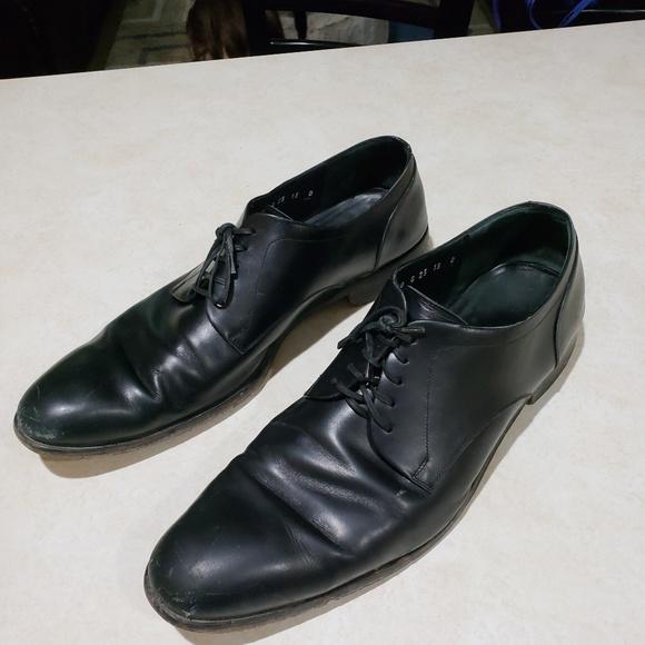 Salvatore Ferragamo 13 D Black Cap Toe Oxford Dres.  M 5b6925f4c617774d15ba0b91 8947d25ae584